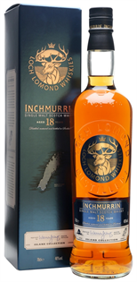 Inchmurrin Scotch Single Malt 18 Year 750ml